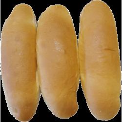 Pan de hot dog (12 unidades) Camas Pan