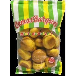 Pan de mini burguer de colores (15 unidades) Camas Pan