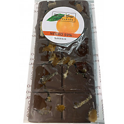 CHOCOLATE NEGRO Y NARANJA