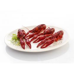 cangrejo de rio cocido