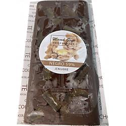 CHOCOLATE NEGRO Y JENGIBRE
