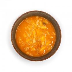 Potaje de chicharos mrocilla chorizo
