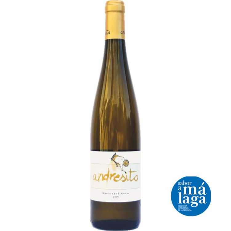 Wine Moscatel Seco Eco Andresito 75 cl