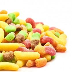 Goma de azúcar Alim. Expositor 10 und. x 110 gr. Frutos Secos Reyes