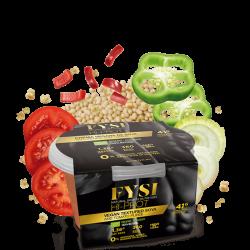 Crema Vegana de Soja Texturizada con Tomate. FYSY