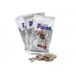 Pipa Girasol Pelada Frita Pack 3 x 40 Gr. Frutos Secos San Blas