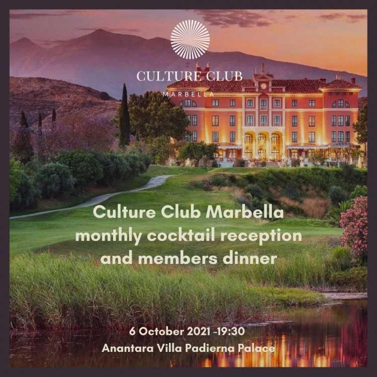 Culture Club Marbella dinner 06.10.2021