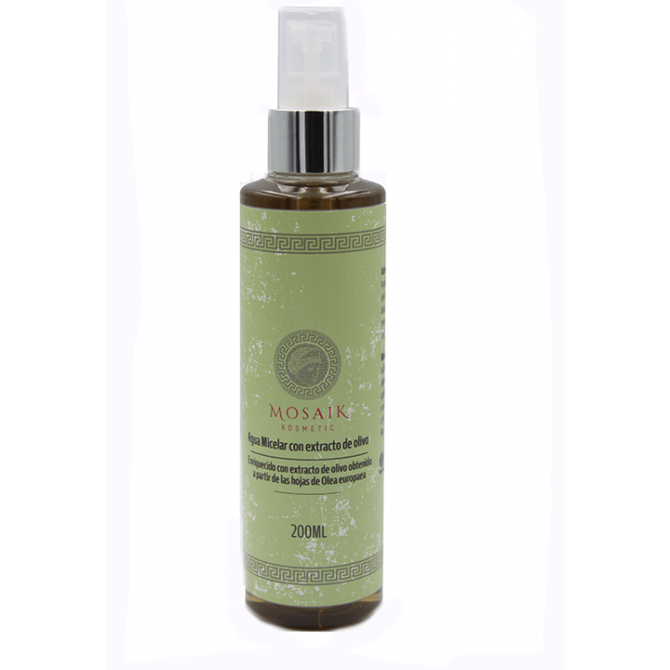 MICELLAR WATER WITH OLIVE EXTRACT 200 Ml