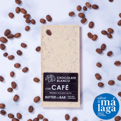 Chocolate Blanco `Butter to Bar´ Con Café