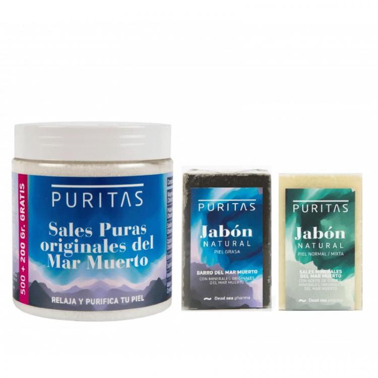 Pack Sales + Jabones del Mar Muerto