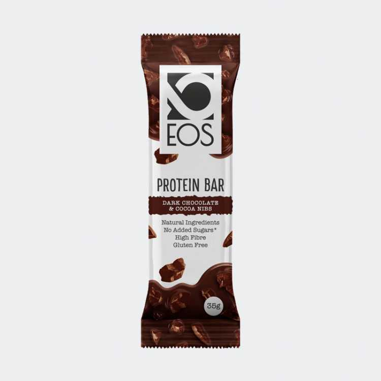 Protein Bars with Cocoa Nibs