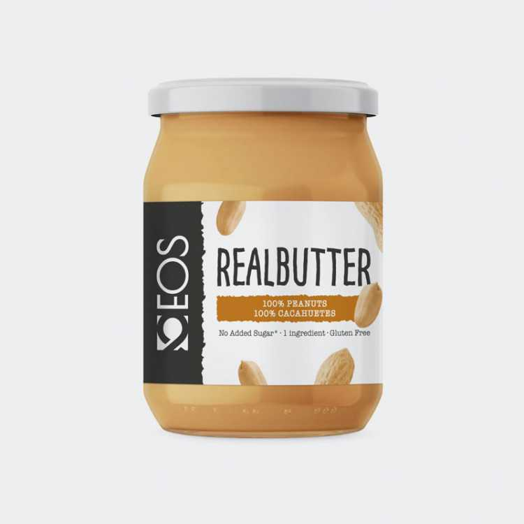 Crema 100% Cacahuete - Real Butter