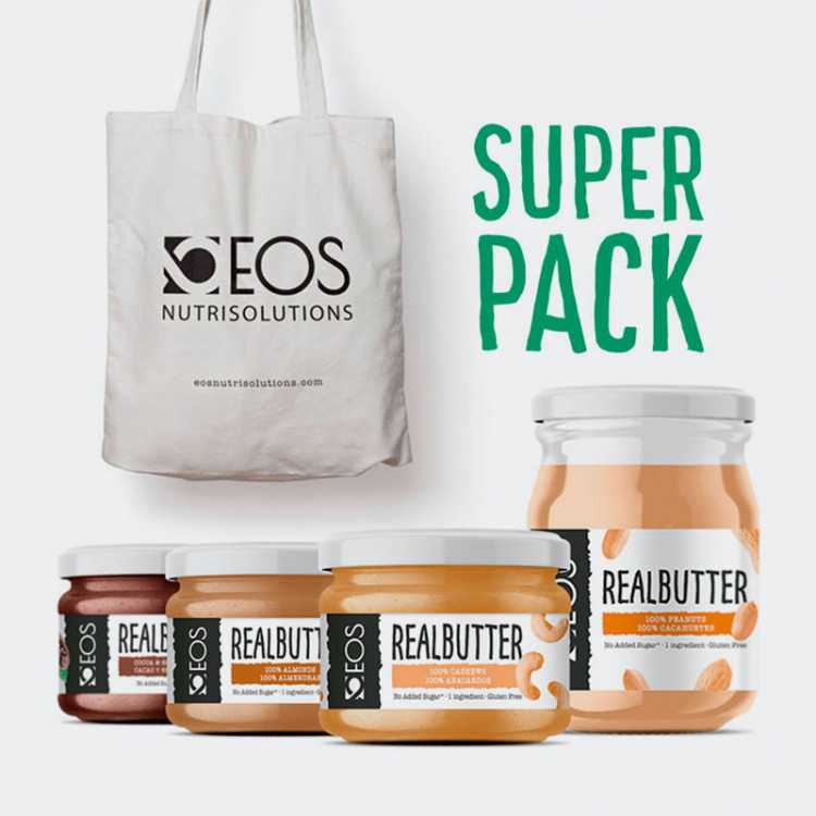 Super Pack Real Butters EOS