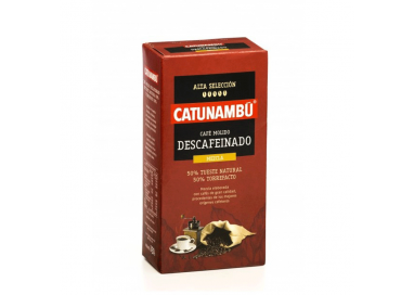 CAFÉ MOLIDO DESCAFEINADO MEZCLA
