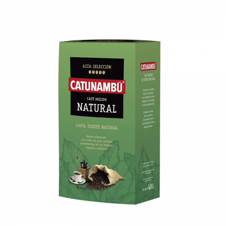 Café Molido Natural Catunambú 400gr.