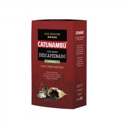 CAFÉ MOLIDO DESCAFEINADO CATUNAMBÚ 400GR