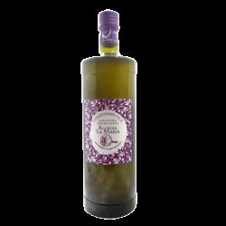 Aceite de Oliva Virgen Extra al Ajo Morado 1ltr. Cristal