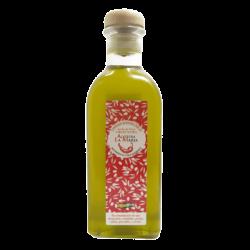 Aceite de Oliva Virgen Extra al chile scorpion 50 CL Cristal