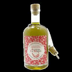 Aceite de Oliva Virgen Extra al Chile Scorpion 50cl. con Vertedor Metalico