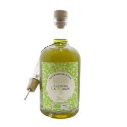 Aceite de Oliva Virgen Extra Ecológico Cristal 50 cl. Nueva Cosecha con Vert.