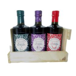 Pack Madera 6 Und. Extra, Ajo, Chile, Extra Ecologico, Menta y Vinagre de Vino